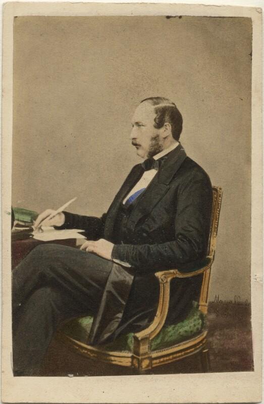 Prince Albert of Saxe-Coburg-Gotha, by John Jabez Edwin Mayall, 1861 (May 1860) - NPG Ax46702 - © National Portrait Gallery, London