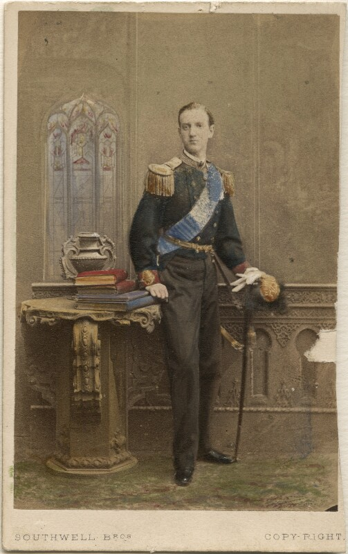 George I, King of Greece, by Southwell Brothers, 1863 - NPG Ax46722 - © National Portrait Gallery, London