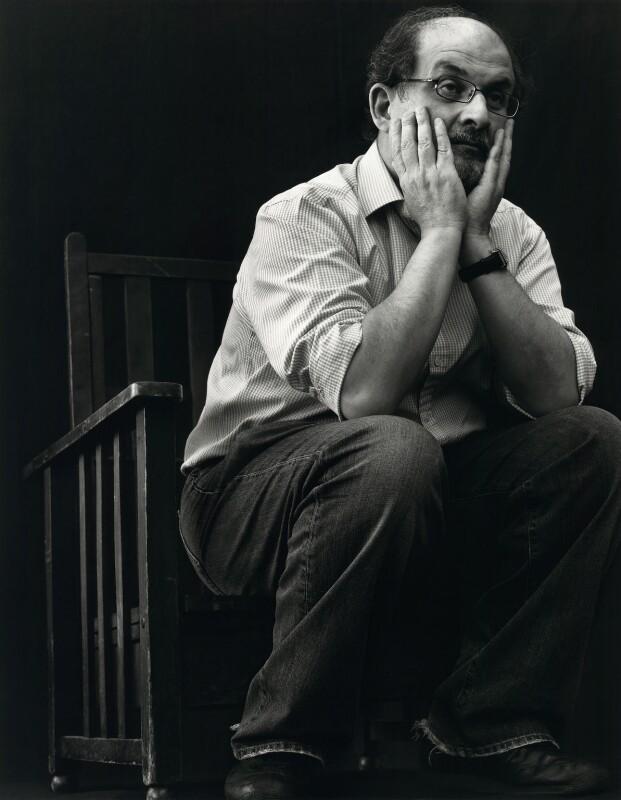 Salman Rushdie, by Bryan Adams, July 2007 - NPG x131937 - © Bryan Adams