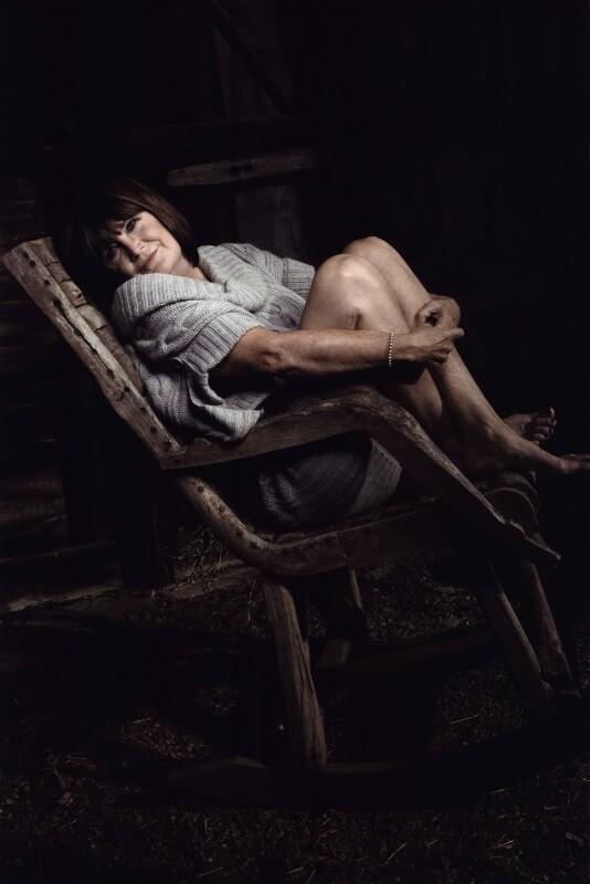 Sandie Shaw, by Jillian Edelstein, October 2007 - NPG x131942 - © Jillian Edelstein / Camera Press