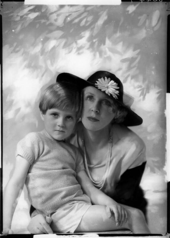 John Julius Cooper, 2nd Viscount Norwich; Lady Diana Cooper (Diana (née Manners), Viscountess Norwich), by Marcus Adams, 1935 - NPG x132041 - © estate of Yvonne Gregory / Camera Press