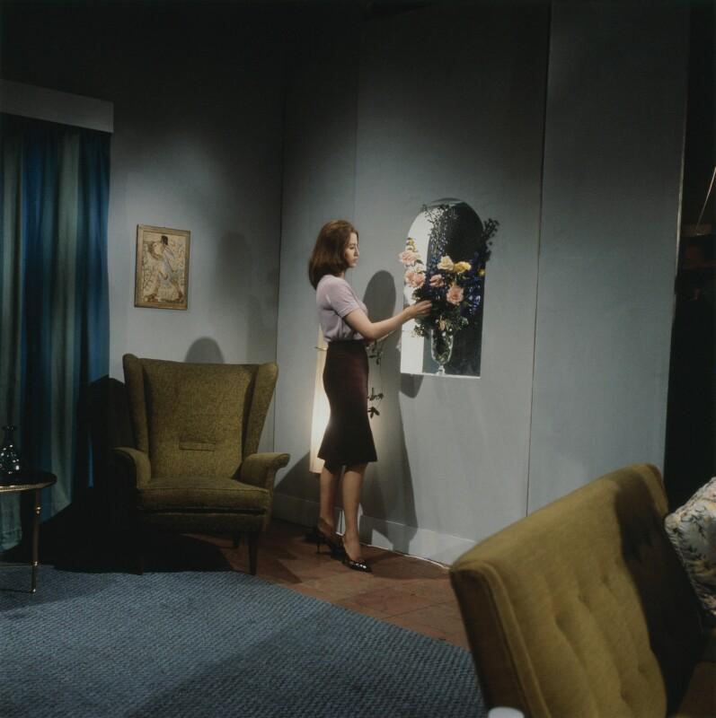Christine Keeler, by Tom Blau, 1963 - NPG x131953 - © Camera Press / Tom Blau