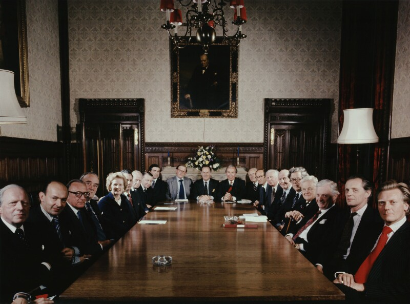 The Conservative Shadow Cabinet, by Tom Blau, 1977 - NPG x131958 - © Camera Press / Tom Blau