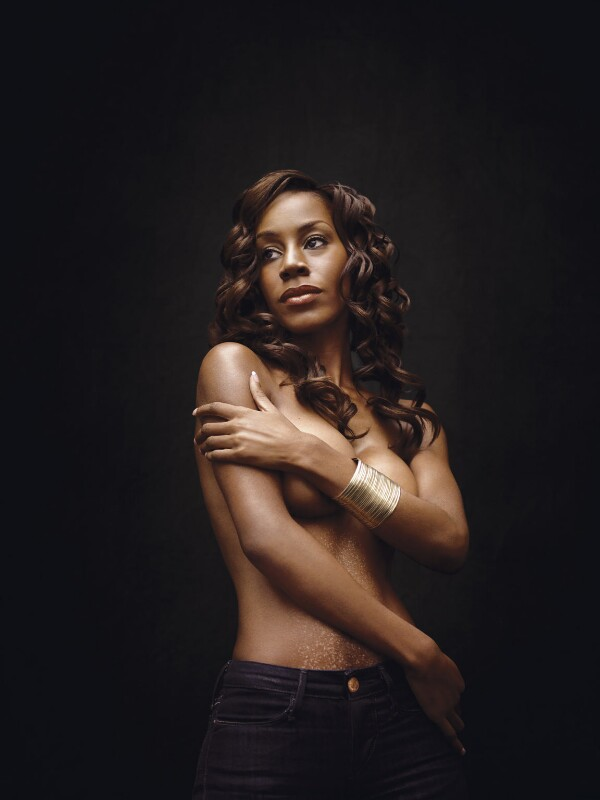 Amma Asante, by Bryan Adams, 19 February 2008 - NPG x131966 - © Bryan Adams
