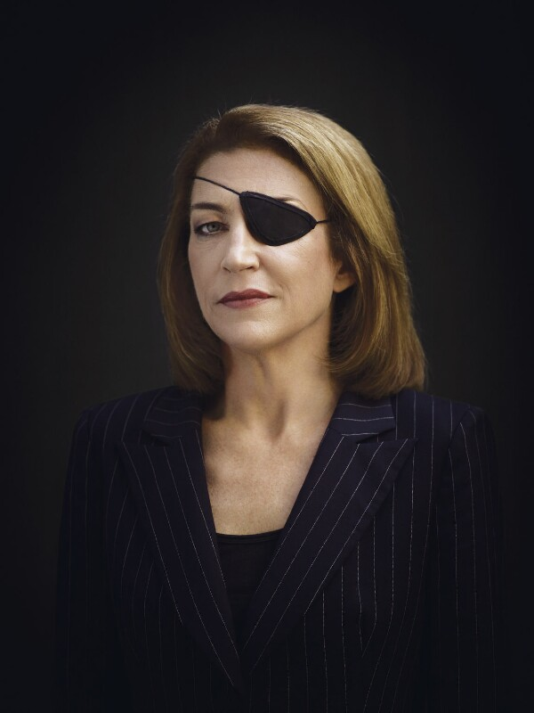 Marie Colvin, by Bryan Adams, 7 February 2008 - NPG x131971 - © Bryan Adams