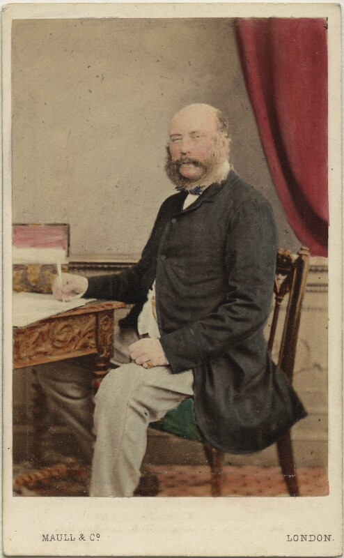 Prince George William Frederick Charles, 2nd Duke of Cambridge, by Maull & Co, published by  Richard Smith, (circa 1864) - NPG Ax46764 - © National Portrait Gallery, London