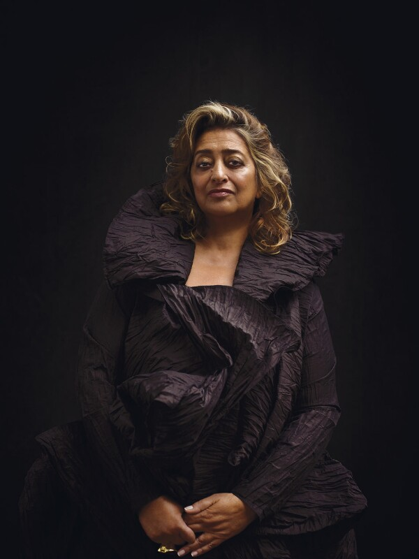 Dame Zaha Hadid, by Bryan Adams, 19 February 2008 - NPG x131976 - © Bryan Adams