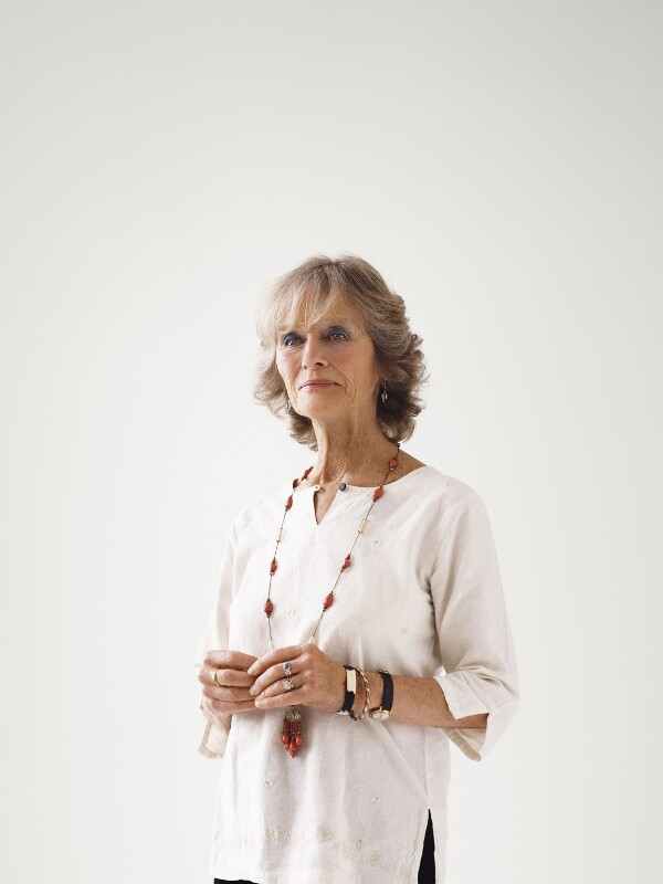 Virginia McKenna, by Bryan Adams, 21 February 2008 - NPG x131981 - © Bryan Adams