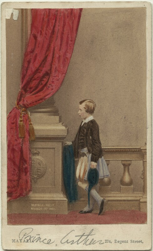 Prince Arthur, 1st Duke of Connaught and Strathearn, by John Jabez Edwin Mayall, February 1861 - NPG Ax46713 - © National Portrait Gallery, London