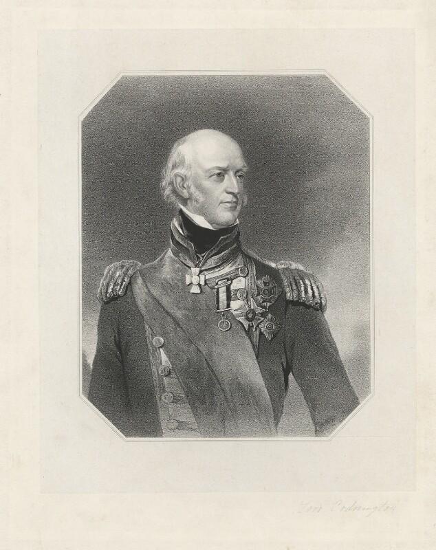 Sir Edward Codrington, by Unknown artist, mid 19th century - NPG D33697 - © National Portrait Gallery, London
