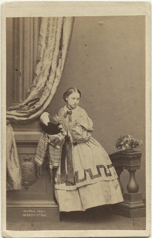 Princess Louise Caroline Alberta, Duchess of Argyll, by John Jabez Edwin Mayall, February 1861 - NPG x15569 - © National Portrait Gallery, London