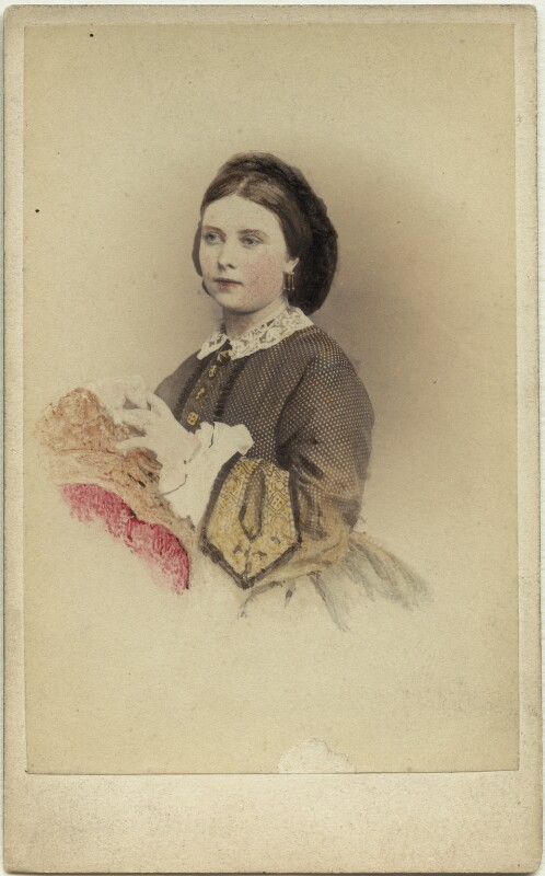 Victoria, Empress of Germany and Queen of Prussia, by Hermann Günther, 1860s (late 1850s) - NPG x132096 - © National Portrait Gallery, London