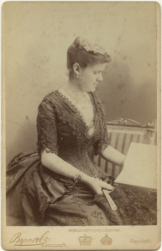 Princess Helen, Duchess of Albany, by Byrne & Co, 1887 - NPG x3810 - © National Portrait Gallery, London
