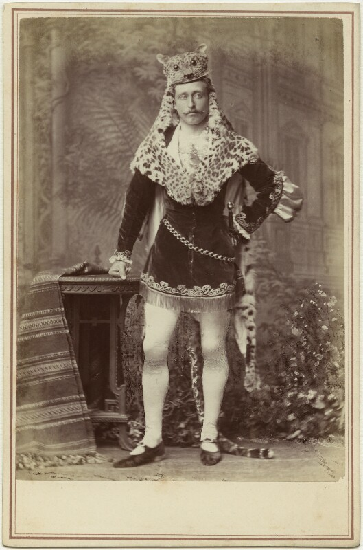 Prince Arthur, 1st Duke of Connaught and Strathearn as a fairy prince, by Alexander Bassano, 22 July 1874 - NPG x26135 - © National Portrait Gallery, London