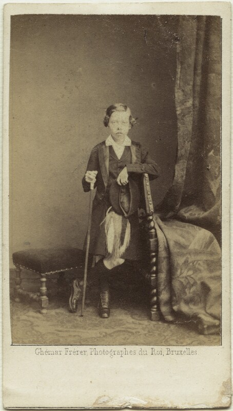 Prince Leopold, Duke of Albany, by Ghémar Frères, circa 1862 - NPG x127200 - © National Portrait Gallery, London