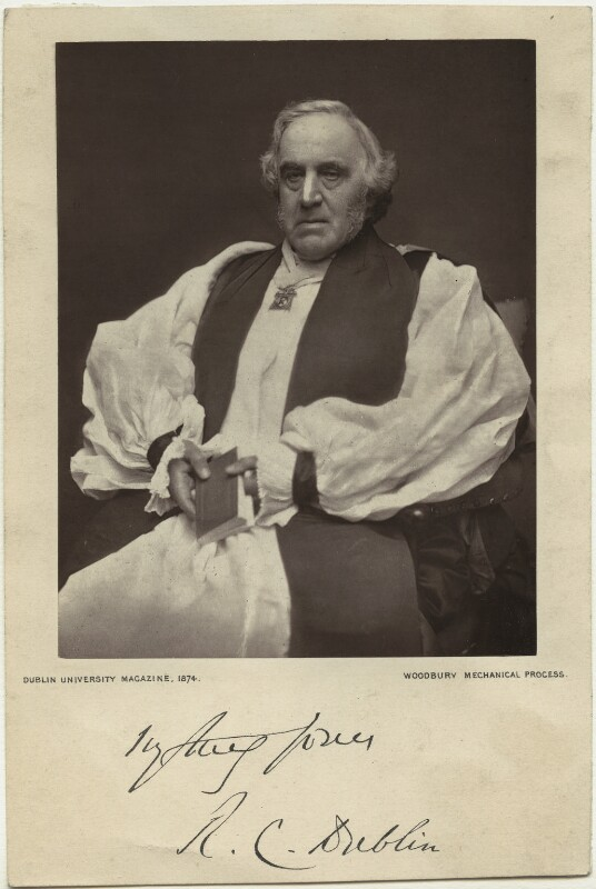 Richard Chenevix Trench, by Unknown photographer, published 1874 - NPG x6016 - © National Portrait Gallery, London