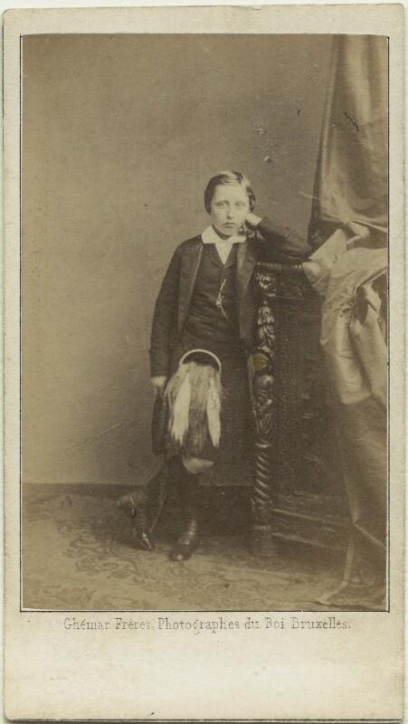 Prince Arthur, 1st Duke of Connaught and Strathearn, by Louis Joseph Ghémar, for  Ghémar Frères, October 1862 - NPG x26136 - © National Portrait Gallery, London