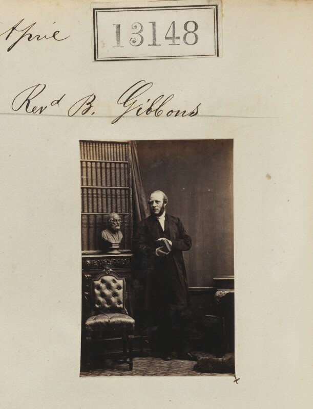 Benjamin Gibbons, by Camille Silvy, 30 April 1863 - NPG Ax62789 - © National Portrait Gallery, London