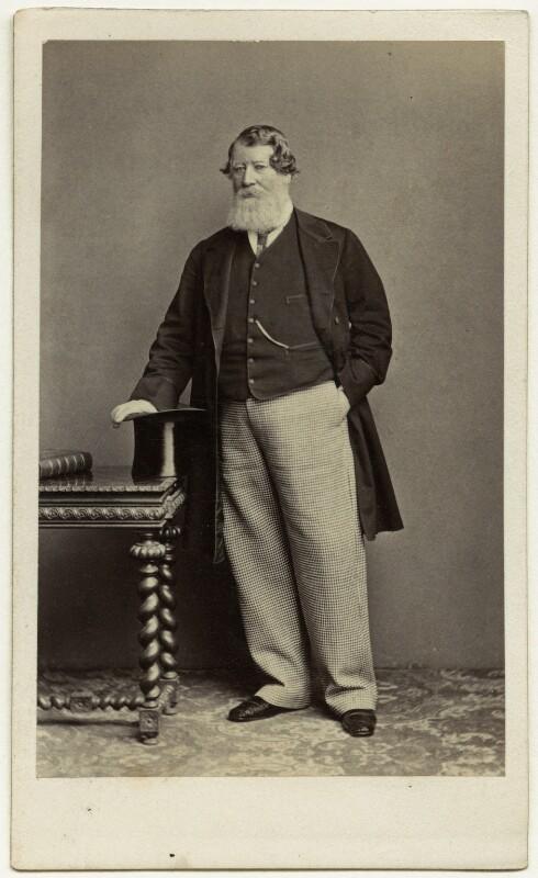 Richard Arabin, by Thomas Richard Williams, 1860s - NPG Ax77132 - © National Portrait Gallery, London