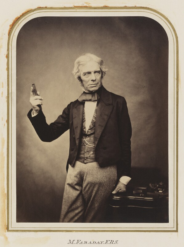 Michael Faraday, by Maull & Polyblank, published October 1857 - NPG Ax7281 - © National Portrait Gallery, London