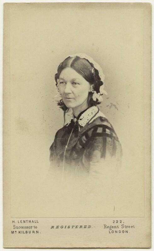 Florence Nightingale, by William Edward Kilburn, (circa 1856) - NPG Ax28403 - © National Portrait Gallery, London
