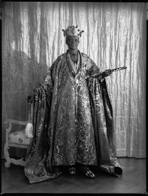Ladapo Samuel Ademola II, King of Abeokuta, by Hay Wrightson, 11 June 1937 - NPG x132176 - © National Portrait Gallery, London