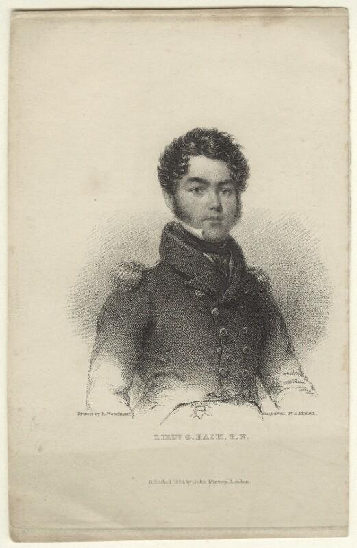 Sir George Back, by Edward Francis Finden, published by  John Samuel Murray, after  Richard Woodman, published 1828 - NPG D33854 - © National Portrait Gallery, London