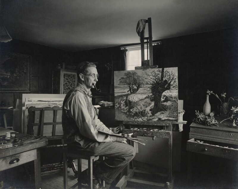 John Arthur Malcolm Aldridge, by Geoffrey Ireland, 1950s - NPG x13189 - © Geoffrey Ireland / National Portrait Gallery, London