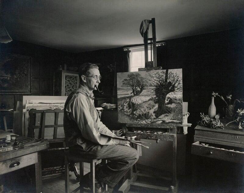 John Arthur Malcolm Aldridge, by Geoffrey Ireland, 1950s - NPG x13189 - © Geoffrey Ireland / National Portrait Gallery, London