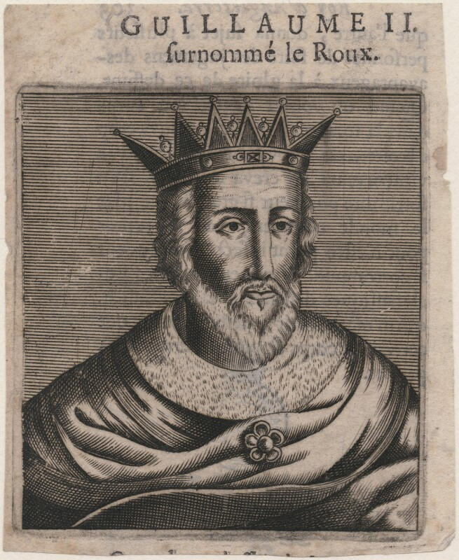 King William II ('Rufus'), after Unknown artist,  - NPG D33918 - © National Portrait Gallery, London
