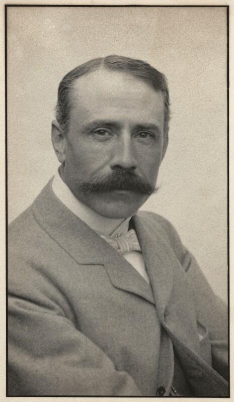 Sir Edward Elgar, Bt, by Edgar Thomas Holding, circa 1905 - NPG x11905 - © National Portrait Gallery, London