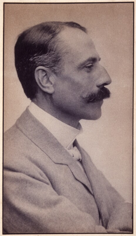 Sir Edward Elgar, Bt, by Edgar Thomas Holding, circa 1905 - NPG x11906 - © National Portrait Gallery, London
