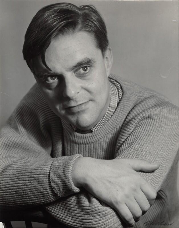 John Barrington Wain, by Ida Kar, circa 1957 - NPG x132107 - © National Portrait Gallery, London