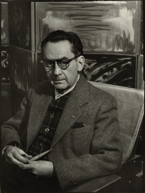 Man Ray, by Ida Kar, 30 March 1954 - NPG x132223 - © National Portrait Gallery, London