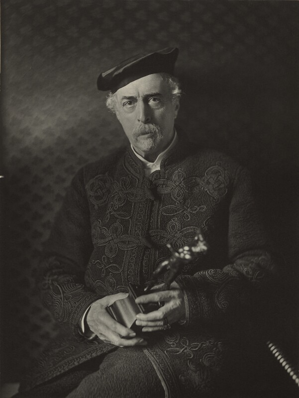 Sir Richard Wallace, 1st Bt, by John Thomson, 1888 - NPG x15500 - © National Portrait Gallery, London