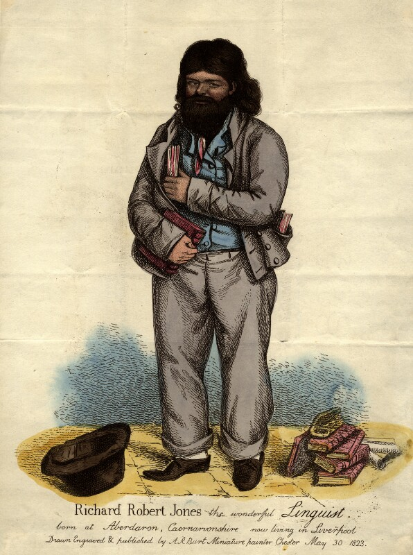 Richard Roberts Jones, by Albin Roberts Burt, 1823 - NPG D9339 - © National Portrait Gallery, London