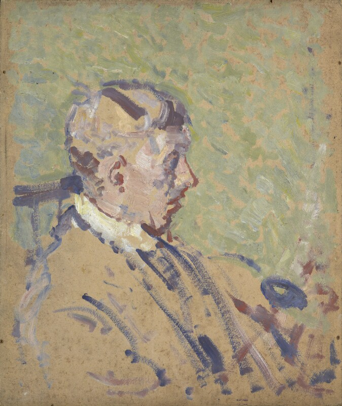 Spencer Frederick Gore, by Harold Gilman, circa 1911-1912 - NPG 6879 - © National Portrait Gallery, London