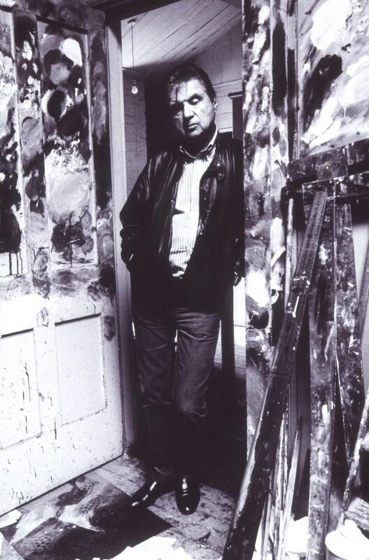 Francis Bacon, by Bruce Bernard, 1984 - NPG x27588 - © estate of Bruce Bernard