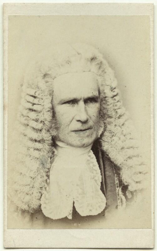 William Page Wood, Baron Hatherley, by John Watkins, published by  Samuel E. Poulton, circa 1868 - NPG x27541 - © National Portrait Gallery, London