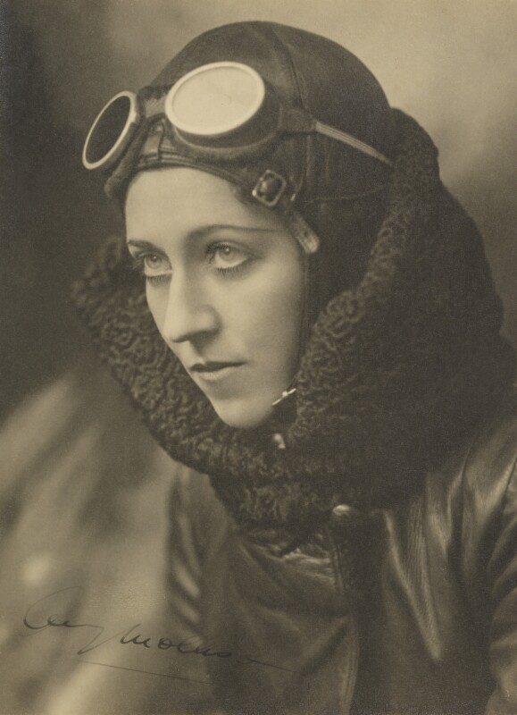 Amy Johnson, by John Capstack, circa 1933-1935 - NPG x17127 - © Capstack Portrait Archive/ Mary Evans Picture Library