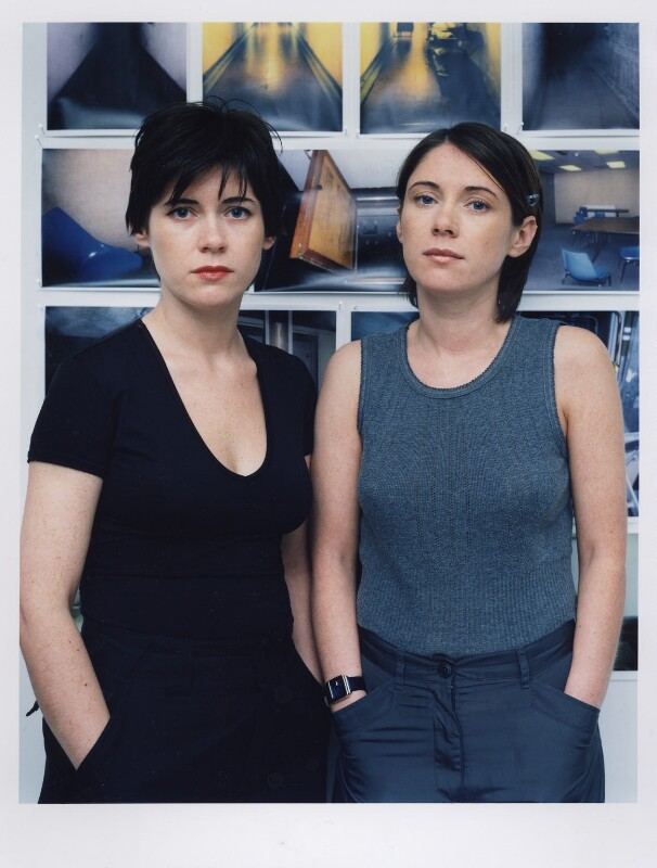 The Wilson Twins (Jane Wilson; Louise Wilson), by Polly Borland, November 1998 - NPG x87759 - © Polly Borland