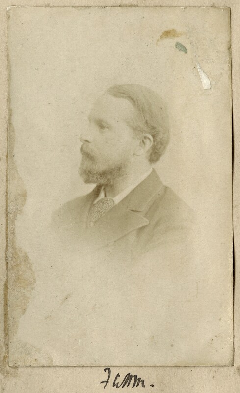 Frederic William Henry Myers, by Unknown photographer, circa 1880 - NPG Ax68350 - © National Portrait Gallery, London
