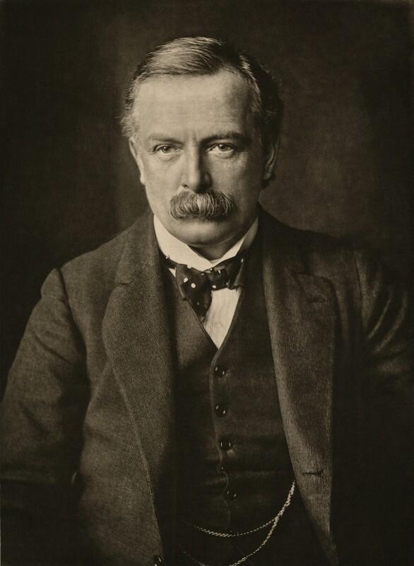 David Lloyd George, by T. & R. Annan & Sons, 1910s - NPG x28743 - © National Portrait Gallery, London