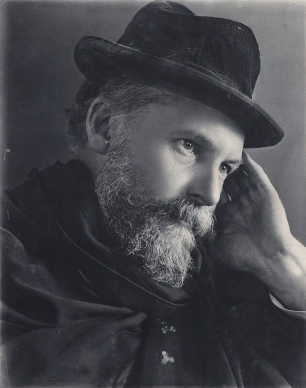 Frederic William Henry Myers, by Eveleen Myers (née Tennant), circa 1890 - NPG Ax68396 - © National Portrait Gallery, London