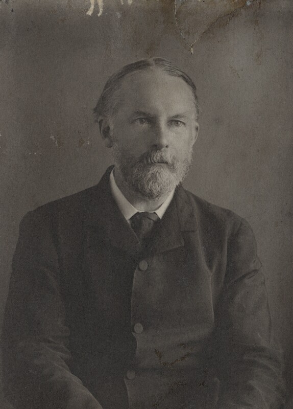 Frederic William Henry Myers, by Eveleen Myers (née Tennant), late 1890s - NPG Ax68408 - © National Portrait Gallery, London