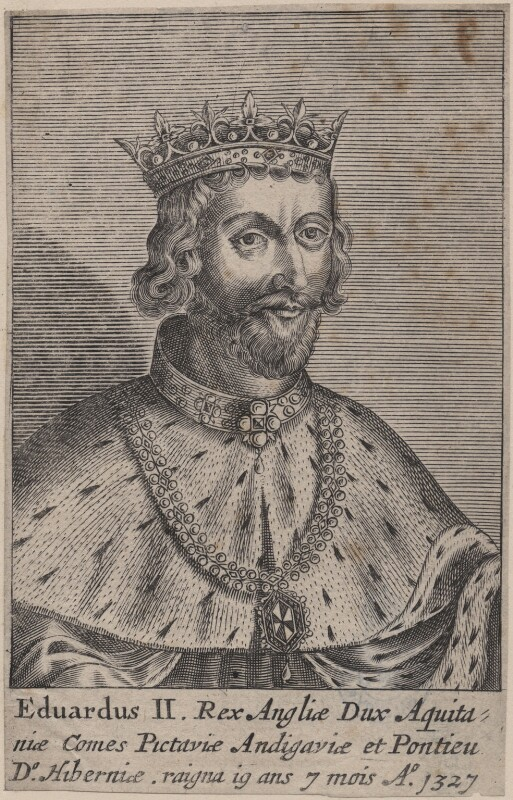 King Edward II, after Unknown artist, 1649? - NPG D33893 - © National Portrait Gallery, London