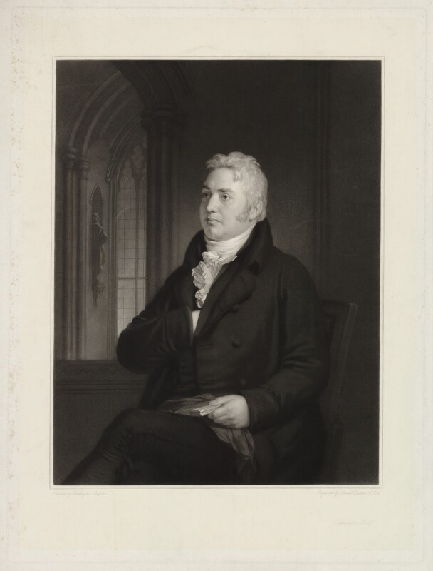 Samuel Taylor Coleridge, by Samuel Cousins, after  Washington Allston, published 1854 - NPG D34030 - © National Portrait Gallery, London