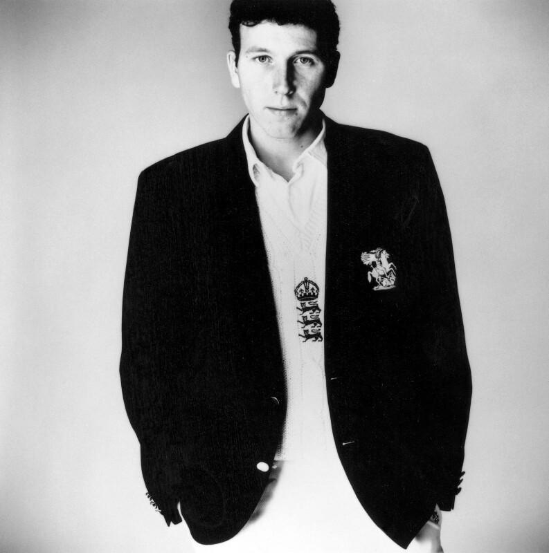 Mike Atherton, by Steve Pyke, 1993 - NPG x45587 - © Steve Pyke