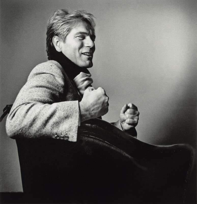 Adam Faith, by Max Adelman, 1986 - NPG x132265 - © Max Adelman / National Portrait Gallery, London