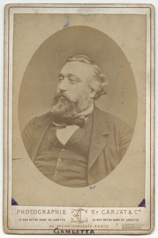 Léon Gambetta, by Carjat & Co (Etienne Carjat), early 1880s? - NPG x132276 - © National Portrait Gallery, London